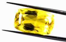 Yellow Heliodor 11.53 ct