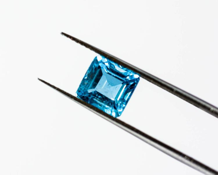 Blue Aquamarine 2.55 ct