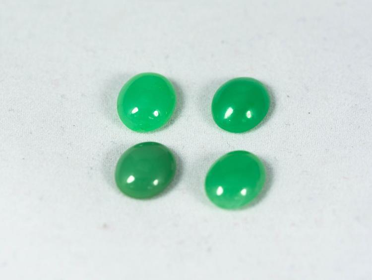 Green Chryzoprase 13 ct