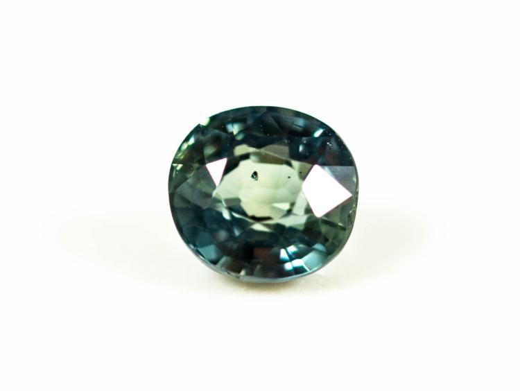 Green Sapphire 1.23 ct