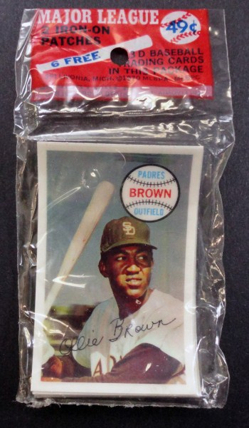 1970 Kellogg's 3D Unopened Pack of 6 cards