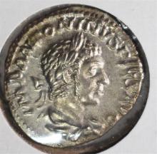 211-217 AD SILVER DANARIUS EMPEROR CARACALLA