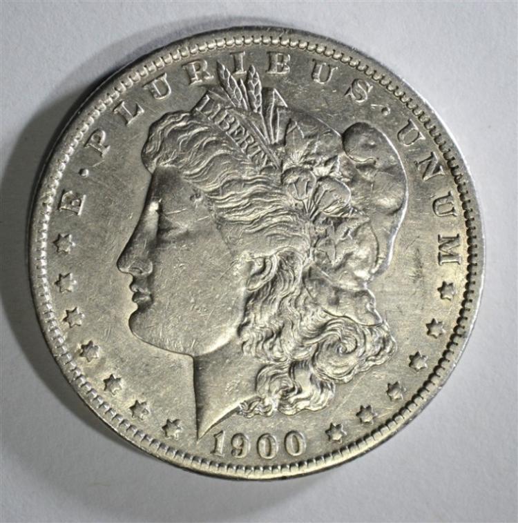 1900-O/CC MORGAN DOLLAR XF+