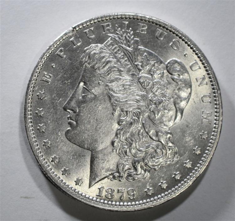 1879-O MORGAN DOLLAR AU/BU