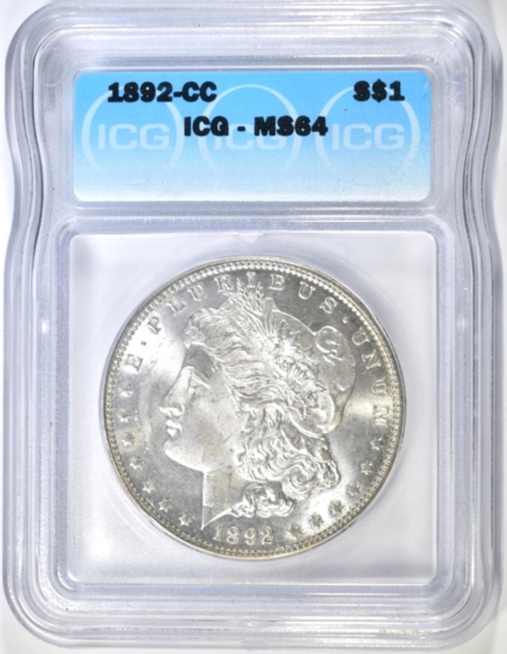 1892-CC MORGAN ICG MS-64