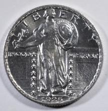 1925 STANDING LIBERTY QUARTER CH BU