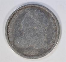 1835 CAPPED BUST DIME, VG