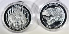 2 - 2015 Canada $20 Fine Silver - Grizzly Bear - The Catch & Togetherness