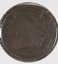 1835 HALF CENT (C-1, R-1) G/VG