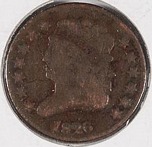1826 HALF CENT G/VG (C-1, R-1)