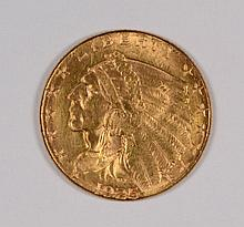 1925-D $2.50 GOLD MS-65 GREAT LUSTER OUTSTANDING EYE APPEAL