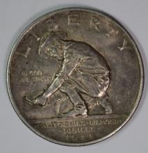 1925-S CALIFORNIA COMMEMORATIVE HALF DOLLAR, AU+