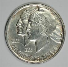 1938-D ARKANSAS COMMEM HALF BU