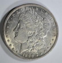 1896-O MORGAN DOLLAR AU/UNC