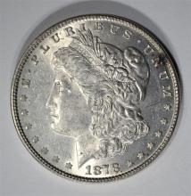 1878 7TF MORGAN SILVER DOLLAR UNC