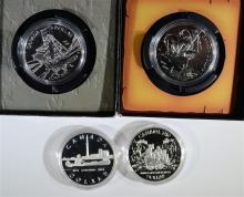 4 - CANADA DOLLARS; 1989 SILVER PROOF