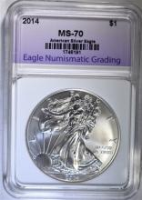 2014 AMERICAN SILVER EAGLE ENG PERFECT