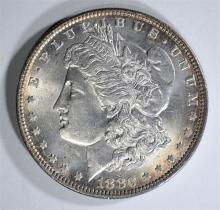 1880-O MORGAN DOLLAR  CH BU+