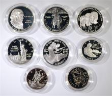 Group of Commemorative Coins