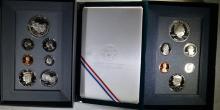 1990 & 1991 US Mint Prestige Sets.