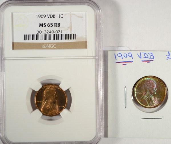 1909VDB Lincoln penny
