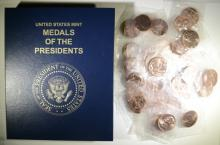 43 COPPER MEDALS of the PRESIDENTS