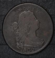 1806 HALF CENT FINE