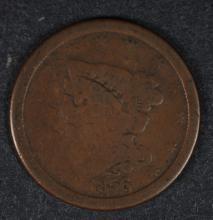 1856 HALF CENT GOOD