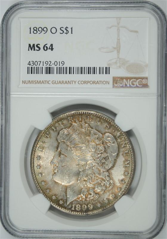 1899-O MORGAN DOLLAR NGC MS-64