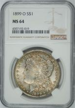 1899-O MORGAN DOLLAR NGC MS-64