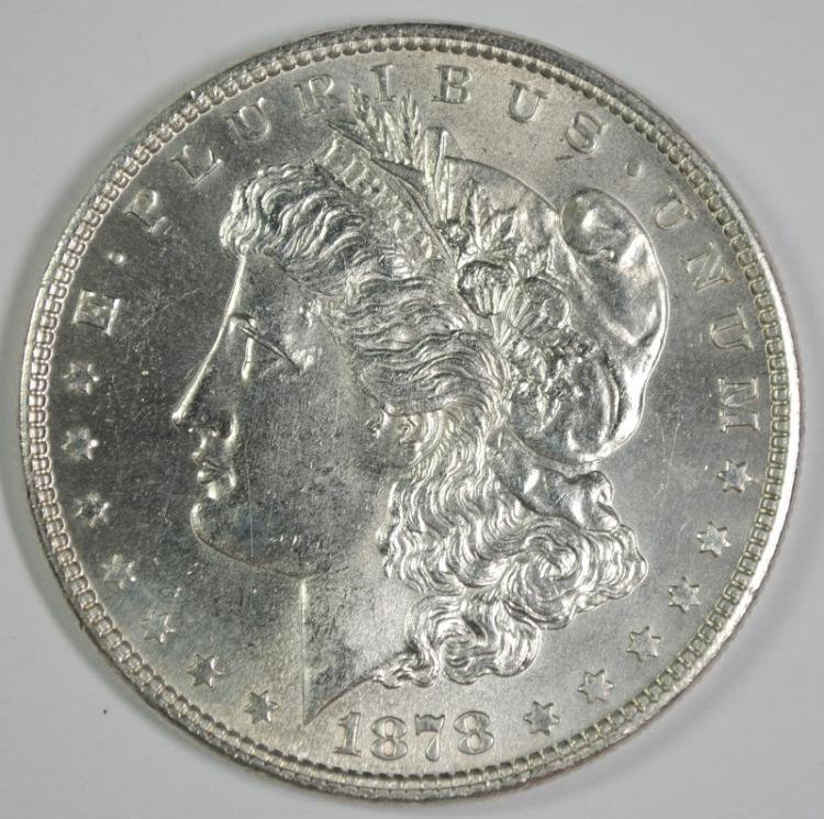 1978 7 TF REV. OF 78 MORGAN DOLLAR GEM BU