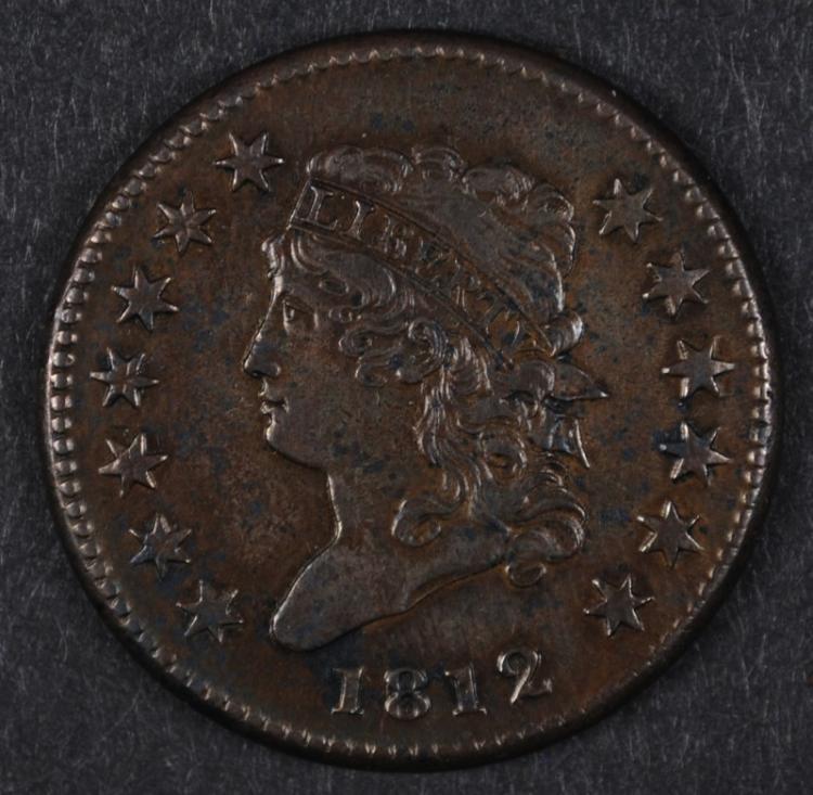 1812 CLASSIC HEAD LARGE CENT AU