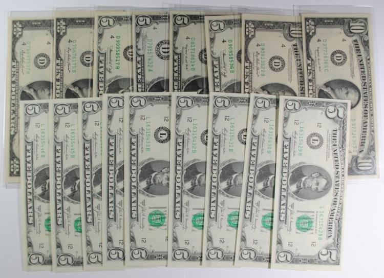 MIXED FEDERAL RESERVE NOTE LOT