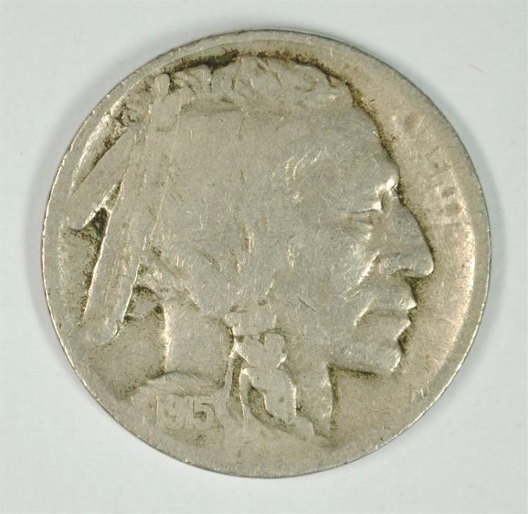 1915-S BUFFALO NICKEL FINE KEY DATE