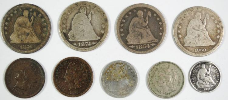 BAG OF TYPE COINS: SEE DESCRIPTION