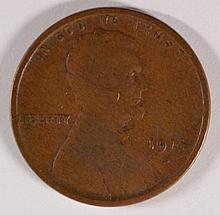 1914-D Lincoln Cent Fine, KEY DATE!