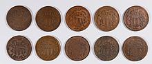 (10) 1864 TWO CENT
