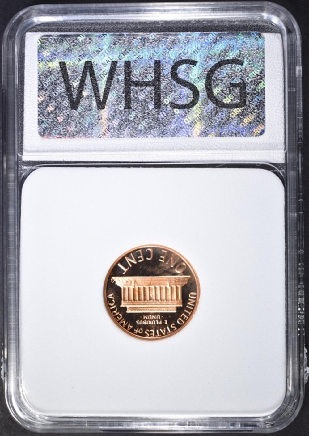 Lot 8: 1982-S LINCOLN CENT, WHSG