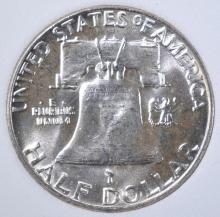 Lot 25: 1962 FRANKLIN HALF DOLLAR, OBCS