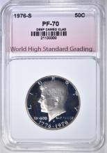 Lot 29: 1976-S CLAD KENNEDY HALF, WHSG