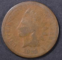Lot 42: 1868 INDIAN CENT GOOD