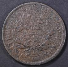 Lot 40: 1806 LARGE CENT, VG corrosion