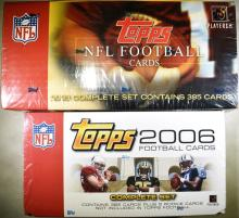 Lot 46: 2003 & 2006 TOPS NFL COMPLETE SET