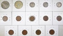 Lot 54: MIXED COIN LOT: