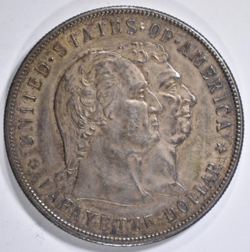 1900 LAFAYETTE DOLLAR  BU TONED