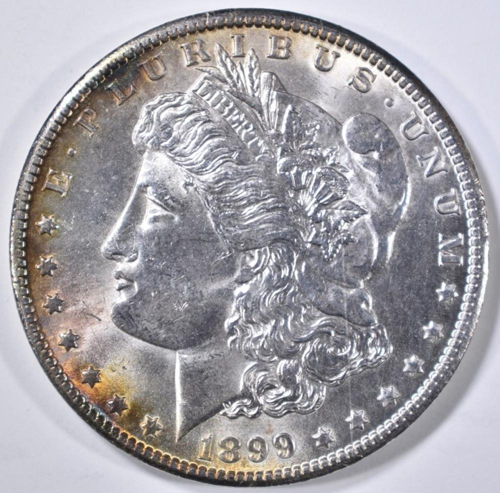 Lot 79: 1899-O MORGAN DOLLAR CH BU