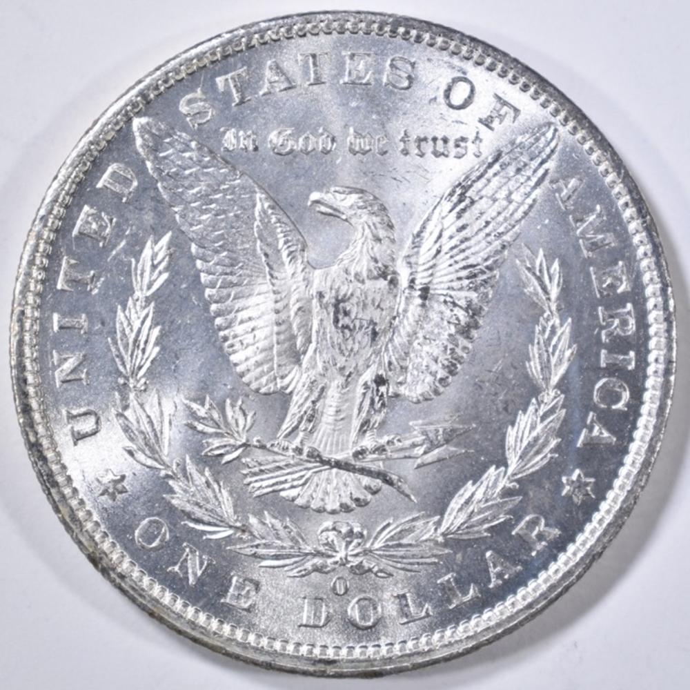 Lot 83: 1879-O MORGAN DOLLAR CH BU