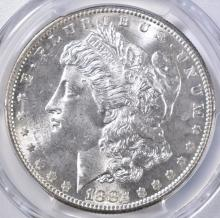 Lot 91: 1882-S MORGAN DOLLAR PCGS MS-64