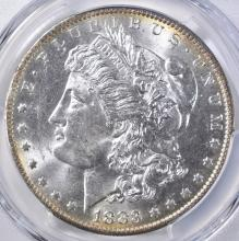 Lot 92: 1883-O MORGAN DOLLAR PCGS MS-63