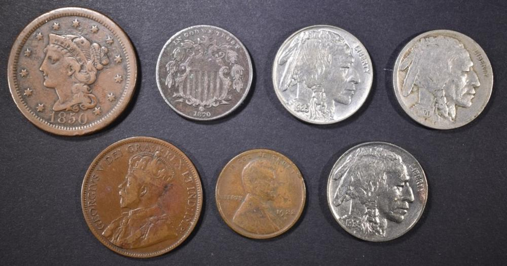 MIXED COIN LOT: